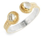 Anna Beck Women's Crystal Quartz Open Stack Ring