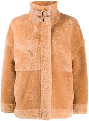 Urban Code Faux-Fur High-Neck Jacket
