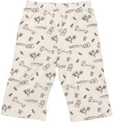Maple Clothing GOTS Certified Organic Cotton Clothing Baby Pants (Stone, 0-3m)