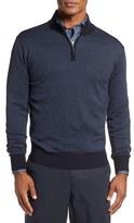 Peter Millar Men's Quarter Zip Sweater