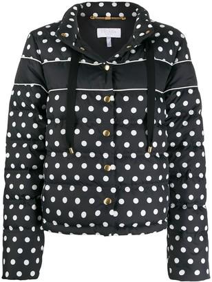 Escada Sport Polka-Dot Puffer Jacket