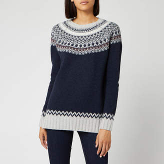 Barbour Women's Fairlead Knit Jumper