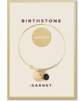 Dorothy Perkins Womens January Birthstone Bangle- Red
