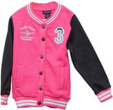 U.S. Polo Assn. Girls Varsity League Sweater & Pants Set