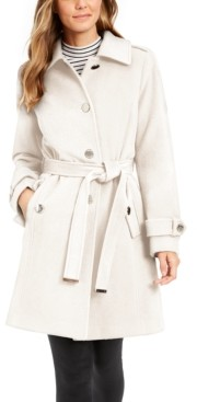 Michael Kors Michael Belted Walker Coat, Created for Macy's