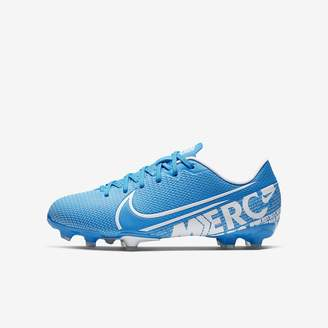 Nike Kids' Multi-Ground Soccer Cleat Jr. Mercurial Vapor 13 Academy MG