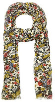 Patricia Nash Denim Fields Collection Floral Scarf