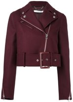 Givenchy cropped belted jacket