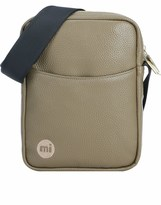Mi-Pac Tumbled Faux Leather Cross Body Flight Bag