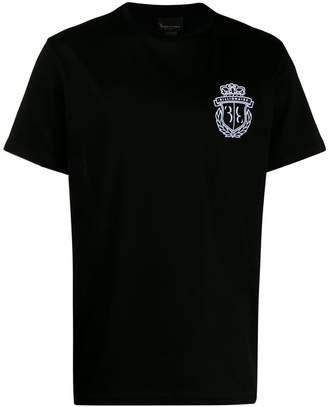 Billionaire logo printed T-shirt