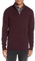 Rodd & Gunn 'The Dasher' Quarter Zip Lambswool Sweater