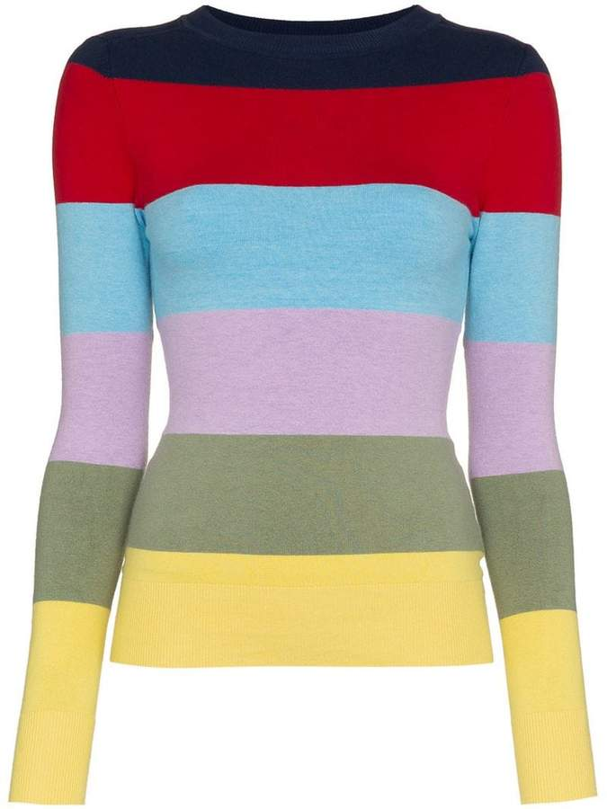 H&M JoosTricot Striped Long-Sleeved Cotton Jumper