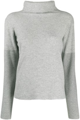 Fabiana Filippi slim-fit funnel neck jumper