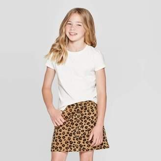 Cat & Jack Girls' Short Sleeve Sparkle T-Shirt - Cat & JackTM
