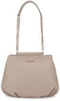 Love Moschino Small Double Chain-Strap Quilted Tote