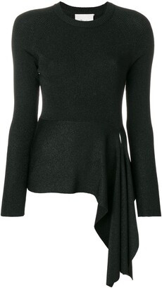 3.1 Phillip Lim Ribbed Side Tie Top