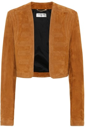Saint Laurent Suede jacket
