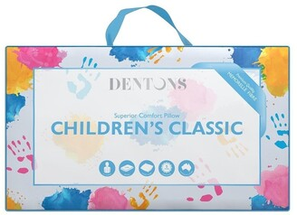 Dentons Childrens Classic Pillow White Low