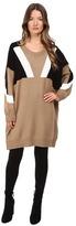 Neil Barrett Oversize Modernist Wool Sweater Women's Sweater