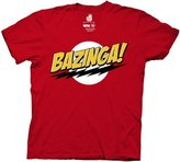 Ripple Junction The Big Bang Theory Bazinga! Men's T-Shirt