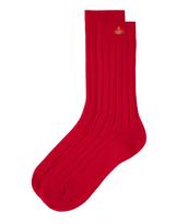 Vivienne Westwood Cashmere Socks Red Size 6-9