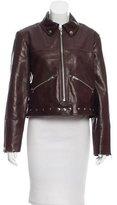 Veda Monk Leather Jacket