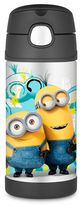 Thermos FuntainerTM 12 oz. Minions Beverage Bottle in Blue/Yellow