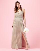 TFNC Embellished Halter Neck Maxi Dress
