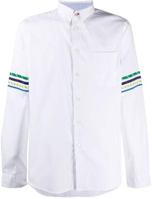 Paul Smith Stripe-Detail Long Sleeve Shirt