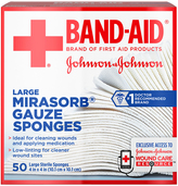 50-Ct. Mirasorb® Gauze Sponges