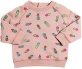 Stella McCartney Pineapple Organic Cotton Sweatshirt