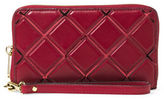 MICHAEL Michael Kors Jet Set Travel Smooth Vegetable Tanned Leather Large Phone Case