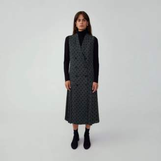 Fame & Partners Drop Waist Vest Dress