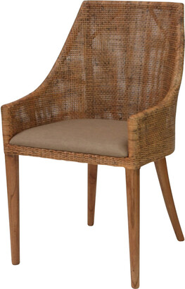Ctr Imports St Louis Chair Honey Brown