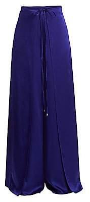 Rosetta Getty Women's Apron Wrap Wide Leg Pants