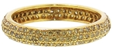 Sethi Couture Pavé Yellow Diamond Band in Yellow Gold