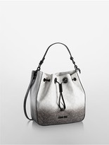 Calvin Klein Jordan Ombre Drawstring Bucket Bag