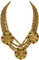 One Kings Lane Vintage 1970s Chanel Gripoix Rare Coin Necklace