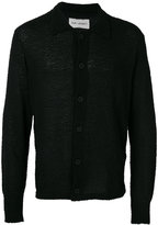 Our Legacy flocked semi-sheer shirt - men - Cotton/Polyamide - S