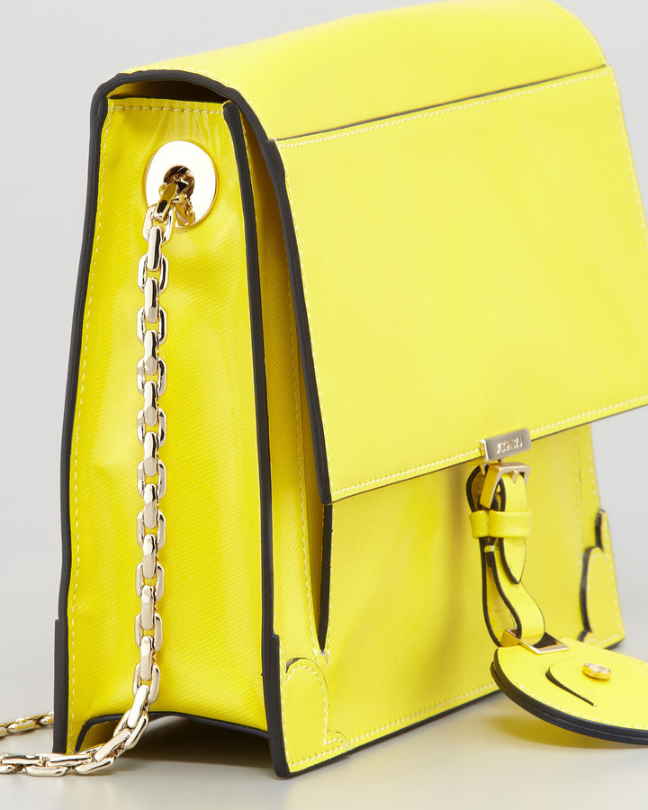 Jason Wu Jourdan Chain Crossbody Bag, Yellow