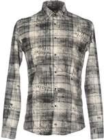 Grey Daniele Alessandrini Shirts - Item 38665199