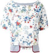 Antonio Marras layered T-shirt - women - Cotton/Polyamide/Polyurethane/Spandex/Elastane - 40