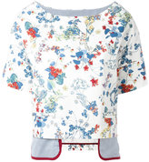 Antonio Marras layered T-shirt - women - Cotton/Polyurethane/Polyamide/Spandex/Elastane - 42