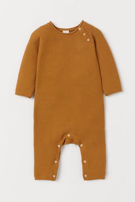 H&M Knit Cotton Jumpsuit