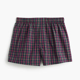 J.Crew Holiday check boxers