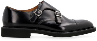 Doucal's Doucals Leather Monk-strap