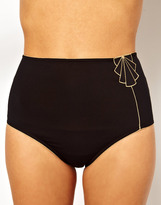 Huit Cleopatra High Waisted Bikini Bottoms
