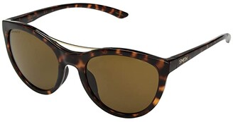 Smith Optics Midtown (Dark Tort/Chromapop Brown Polarized) Athletic Performance Sport Sunglasses