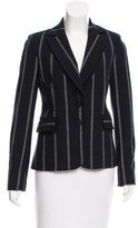 Derek Lam 10 Crosby Pinstripe Two-Button Blazer
