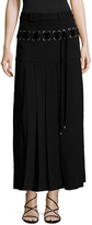 Marc by Marc Jacobs Women's Lace Up Pleated Midi Skirt